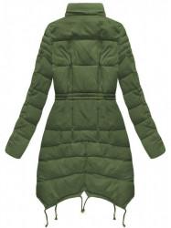 Zelená dámska zimná bunda 3602W #4