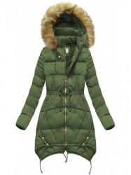 Zelená dámska zimná bunda 3602W #5