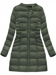 Zelená dámska zimná bunda W751BIG #1