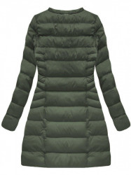 Zelená dámska zimná bunda W751BIG #2