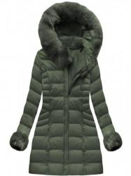 Zelená dámska zimná bunda W751BIG #3