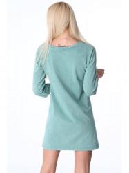 Zelené dámske šaty 3778
