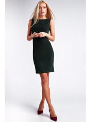 Zelené šaty s odhaleným chrbtom 9475 74df0755cf