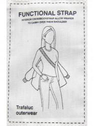 Zimná bunda s kožušinou, strieborná (W721) #2