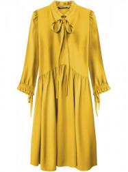 Žlté dámske šaty 208ART
