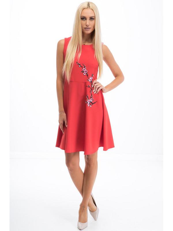 Červené šaty 8268 - Dámske ležérne šaty - Locca.sk 1eec9475448