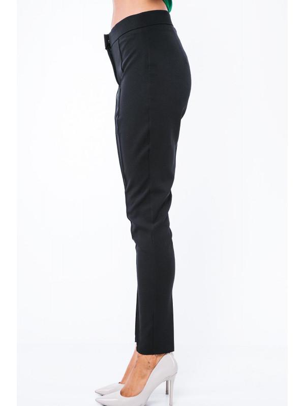e1d2c6d2b23b Čierne elegantné nohavice MP44422 - Elegantné nohavice dámske - Locca.sk