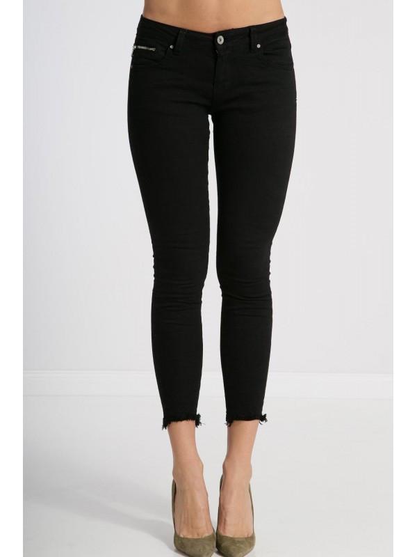 Čierne SLIM jeansy