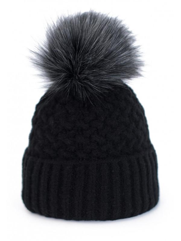 ac6b79126 Dámska čiapka Chic, čierna - Dámske čiapky - Locca.sk