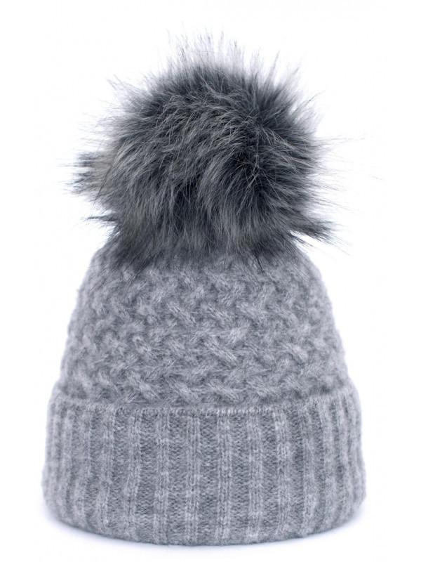 07ca71edd Dámska čiapka Chic, sivá - Dámske čiapky - Locca.sk