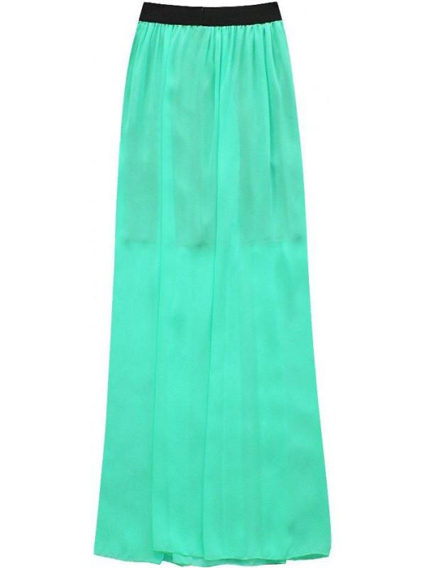 Dámska dlhá sukňa 105ART, mätová