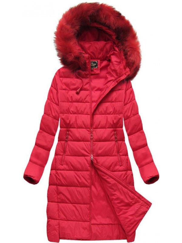 Dámska dlhá zimná bunda 7754BIG 0c0e6158558