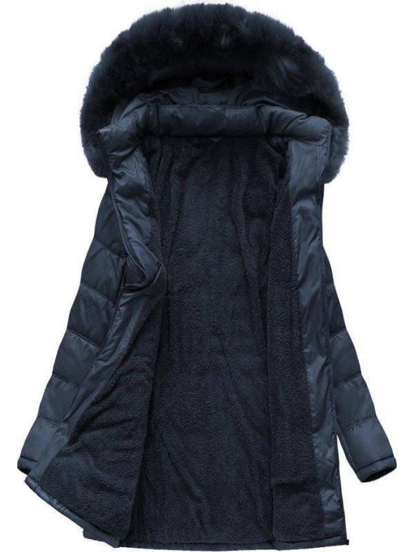 Dámska dlhá zimná bunda B1023-30 a5bbb8fae96