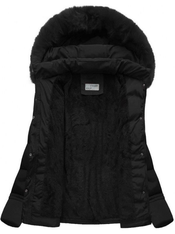 Dámska krátka zimná bunda B3593-30 d8164c237ac