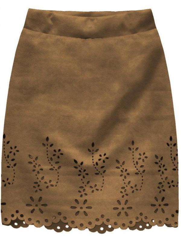 0a87c9dd7cfb Dámska semišová sukňa 3070