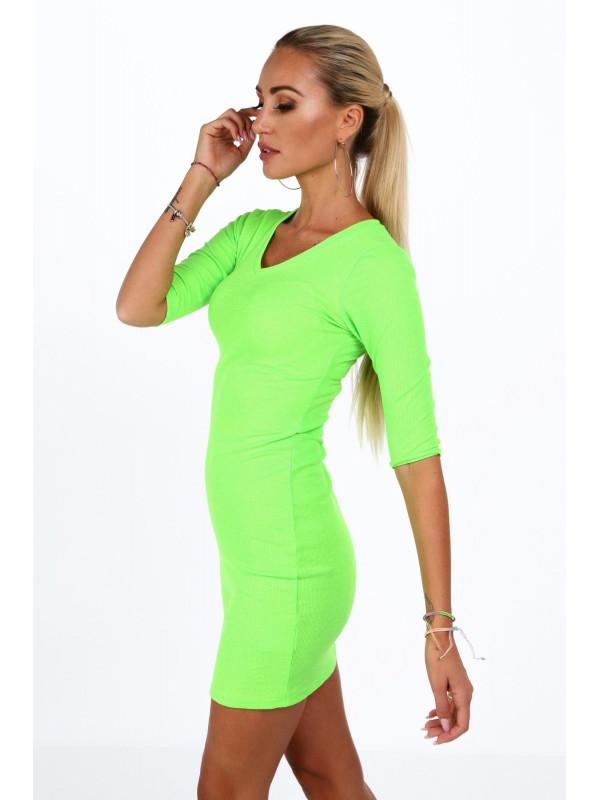 f6a15f05b83c Dámske bavlnené šaty 2093