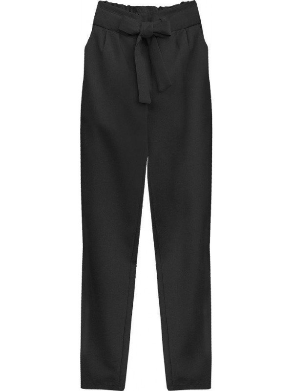 Dámske chino nohavice 295ART, čierne