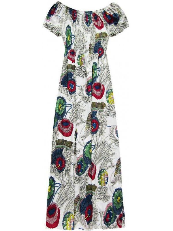 ba1e3b1fdd6b Dámske dlhé letné šaty 71027NO