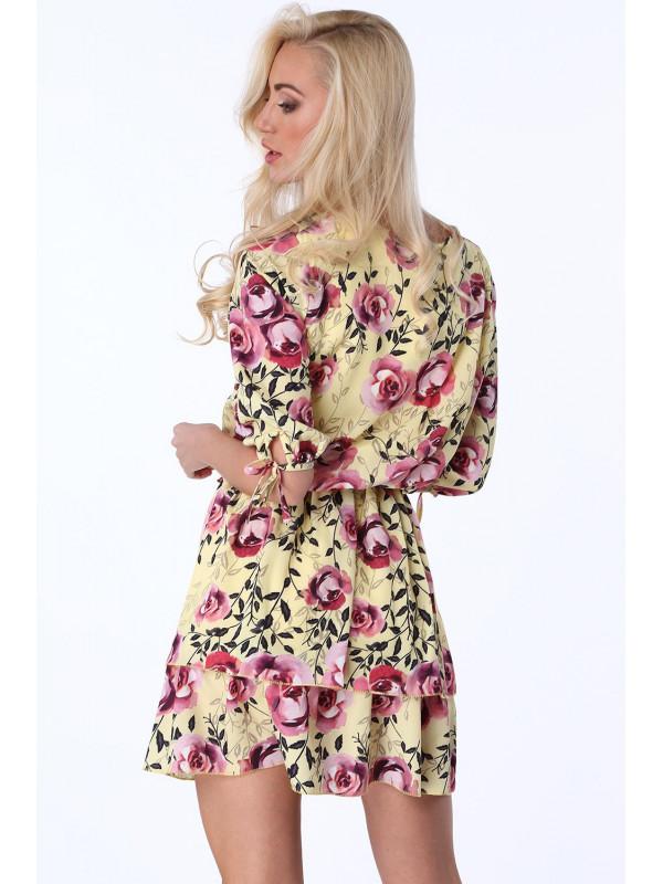 e2d7a9981254 Dámske kvetinové šaty 2808
