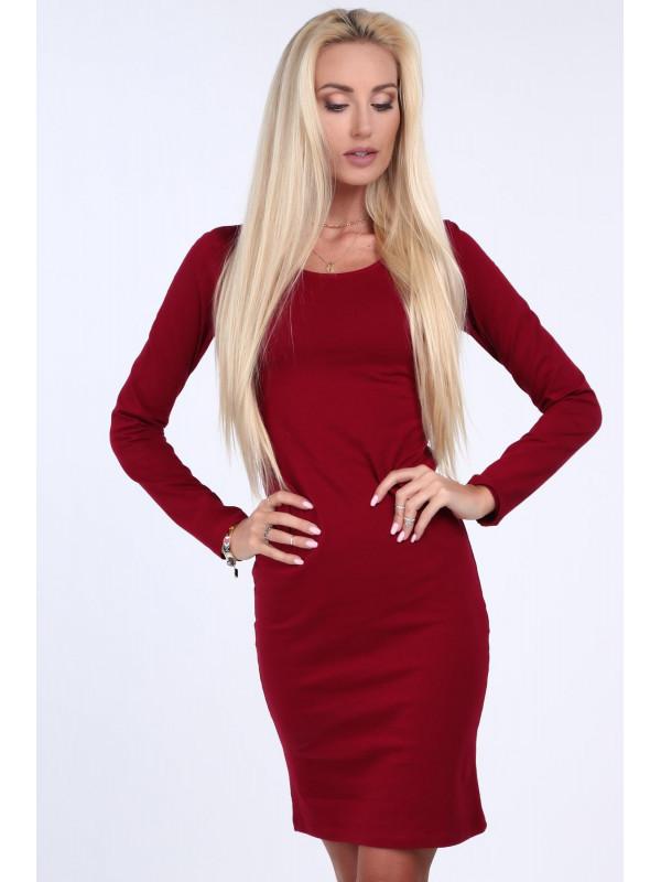 d857c00d5cae Dámske minimalistické šaty 4054