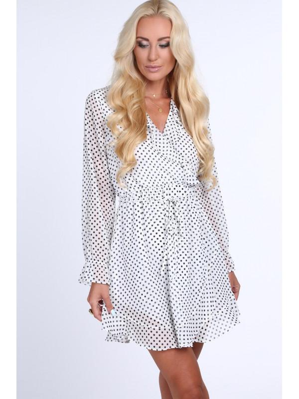 Dámske šaty s bodkami 21331 dd59763aa32