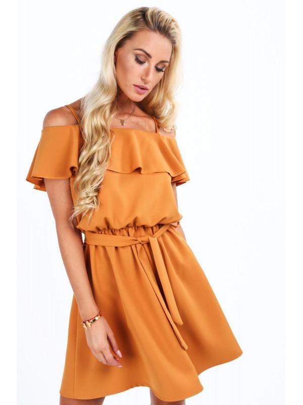 f14e86bdd396 Dámske šaty s volánmi 0261