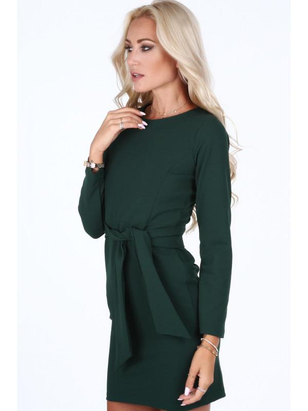Dámske zelené šaty 1835 - Dámske dlhé šaty - Locca.sk bc303a4817