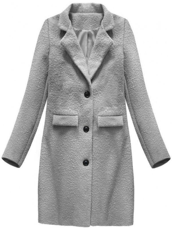 Dámsky prechodný vlnený kabát 23108 8e786dfadec