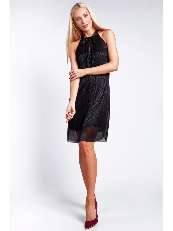 7970df2c90fc Elegantné čierne šaty 9483 - Dámske elegantné šaty - Locca.sk