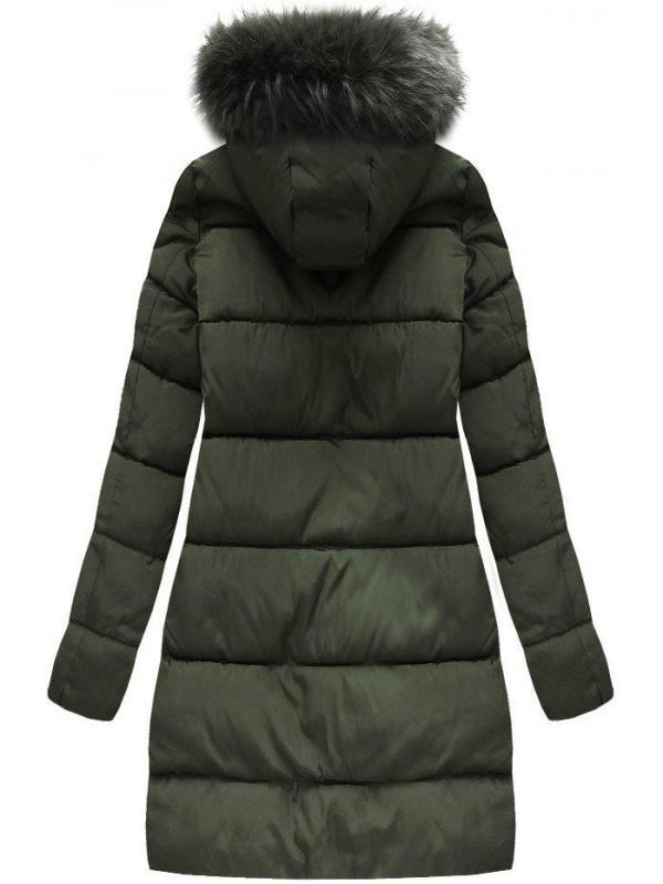 Khaki dámska zimná bunda 7756 - Dámske bundy - Locca.sk 43be1af5ddb