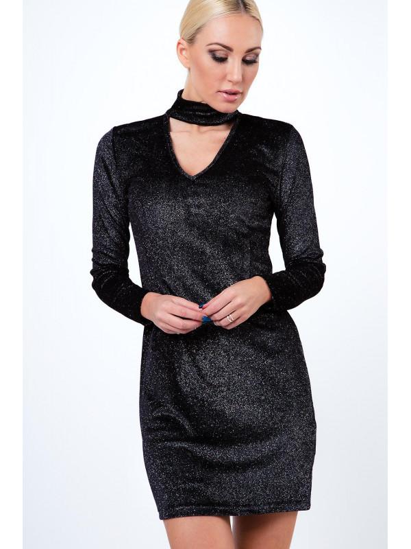 Lesklé strieborné mini šaty - Mini šaty - Locca.sk b19733052e6