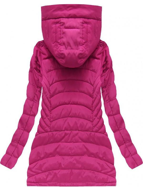 Prechodná bunda (W620) ružová - Dámske jarné bundy - Locca.sk 09b2175b89