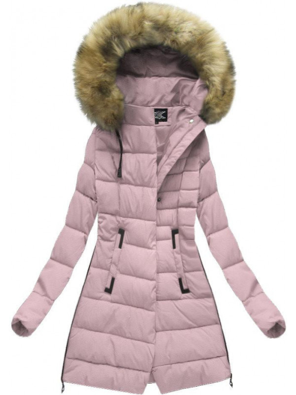 Prešívaná zimná bunda s kapucňou 479502f168b