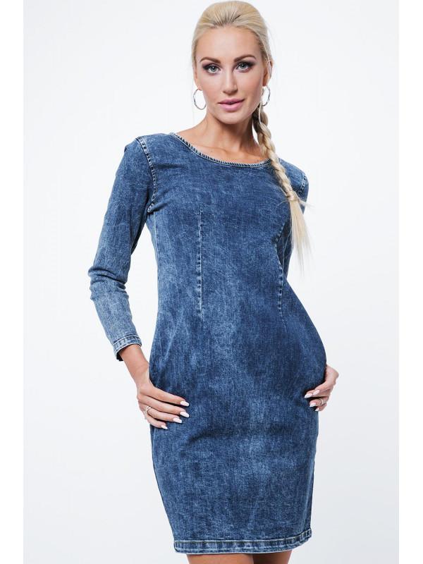 8b142d0855 Riflové šaty 1643 - Dámske ležérne šaty - Locca.sk