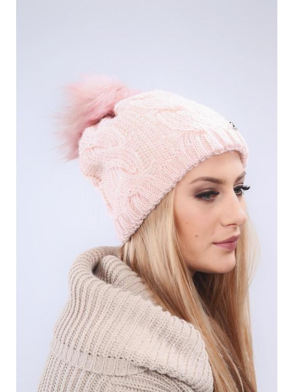 77ba27639 Svetlo ružová dámska čiapka C9 - Dámske čiapky - Locca.sk