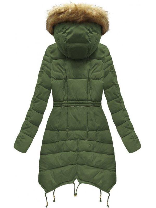 Zelená dámska zimná bunda 3602W - Dámske bundy - Locca.sk 67526ac0c98