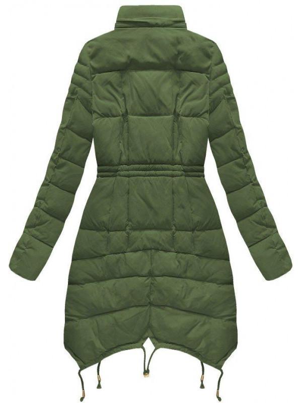 Zelená dámska zimná bunda 3602W - Dámske bundy - Locca.sk 4f45e0e9714