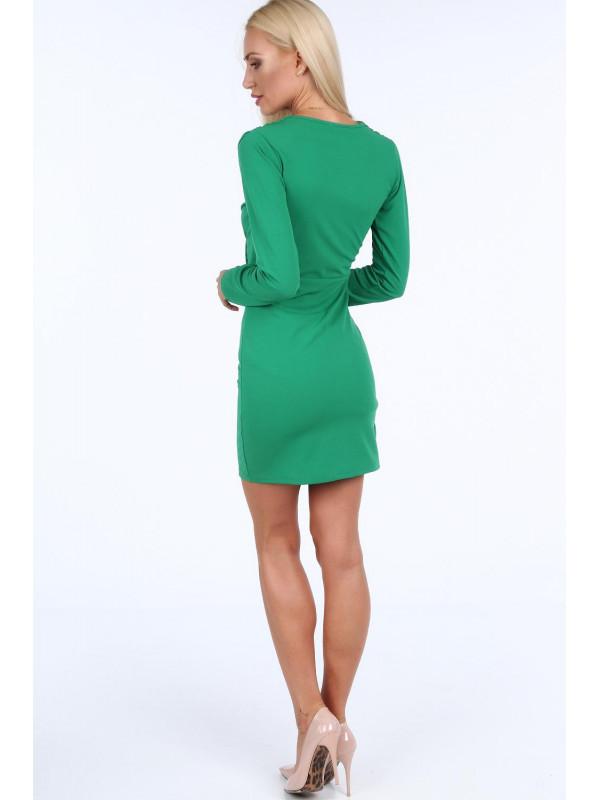 0c56e465c519 Zelené dámske šaty 1817 - Spoločenské šaty krátke - Locca.sk