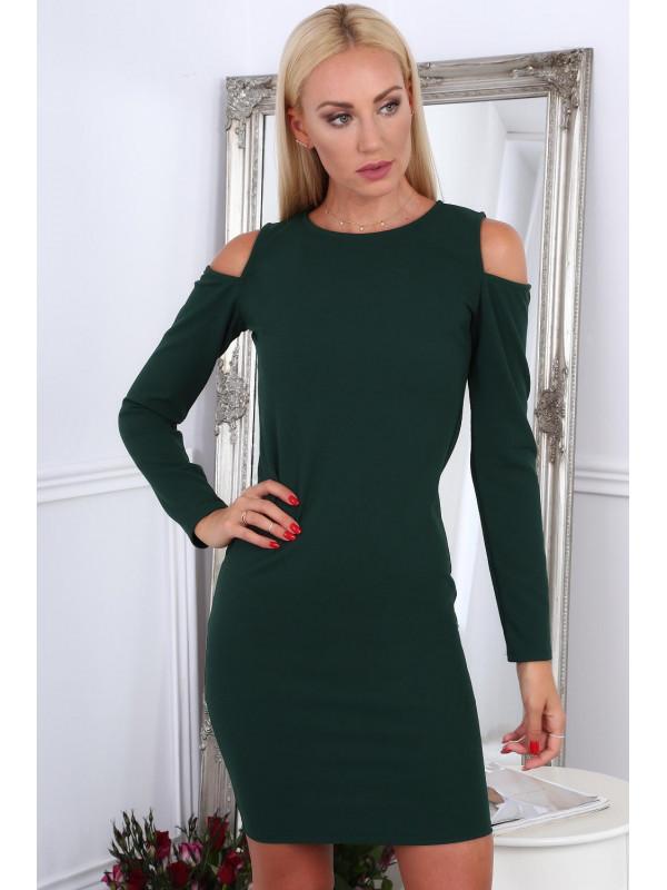 ab6e53e82570 Zelené dámske šaty 1836 - Dámske elegantné šaty - Locca.sk
