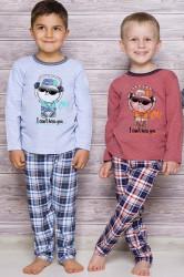 Chlapčenské pyžamo 134 blue