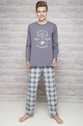 Chlapčenské pyžamo 289 melange
