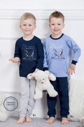 Chlapčenské pyžamo 859 Olek dark blue