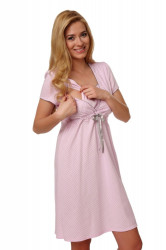 Dámska dojčiaca košeľa Felicita pink