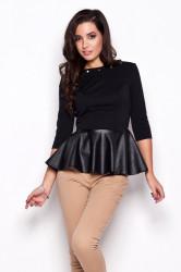 Dámska košeľa K073 black