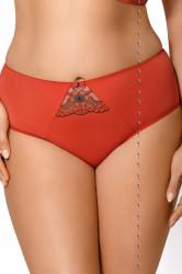 Dámske nohavičky Gorsenia figi k 377 campari rudy M