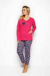 Dámske pyžamo 146 red