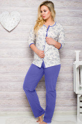 Dámske pyžamo 2126 blue