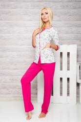 Dámske pyžamo 2126 Fabia fuchsia