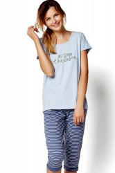 Dámske pyžamo 35248 Riya 50x blue