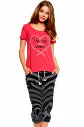 Dámske pyžamo 36809 Tayla pink